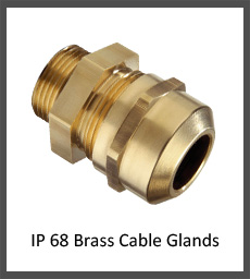 IP 68 Brass Cable Glands